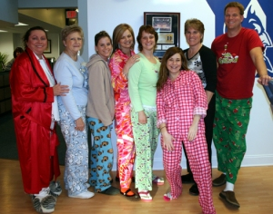 Pajama Day Group Picture
