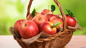 Cos cu mere