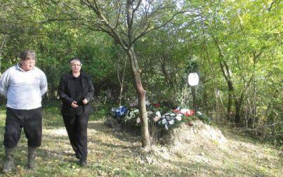 Mormântul din grădină