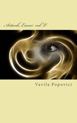 Coperta Articole și eseuri - vol. V de Vavila POPOVICI