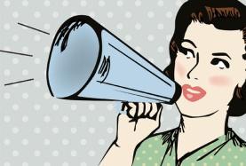 ilustratie-cu-femeie-care-vorbeste-la-portavoce